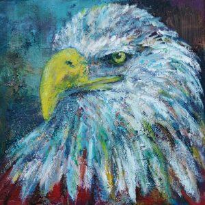 Bald Eagle_30X30_s