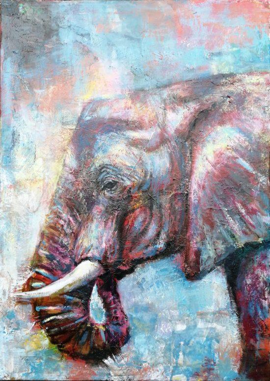 Elephant blue, 70X50_s